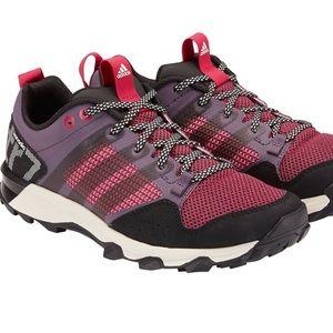 Adidas pink purple kanadia TR7 trail running shoes